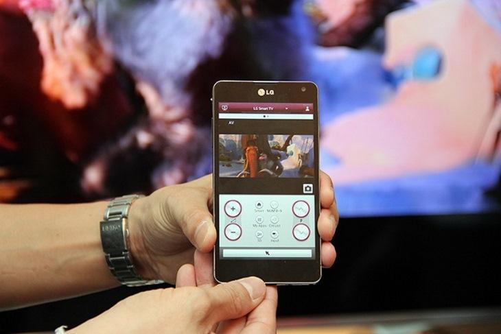Điều khiển tivi bằng ứng dụng LG TV Remote