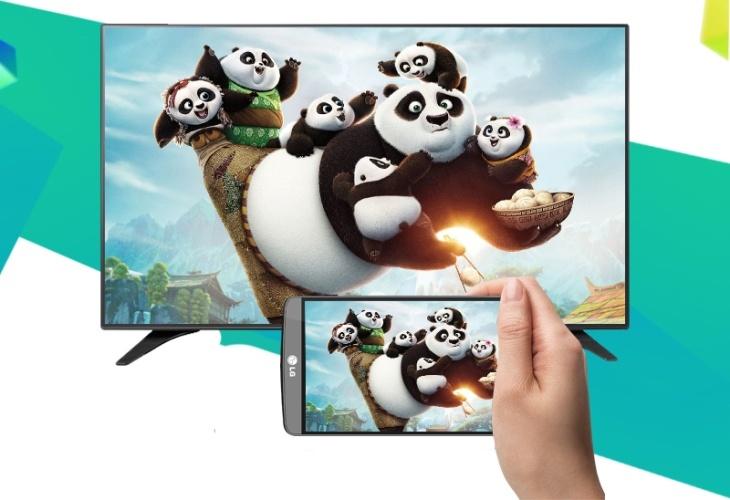 Cách kết nối điện thoại với tivi LG bằng DLNA