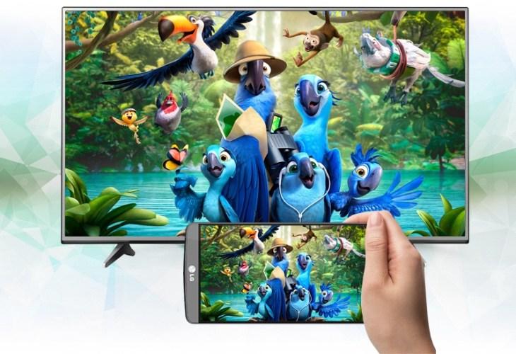 Cách kết nối điện thoại Iphone với tivi LG thông qua LG TV Plus