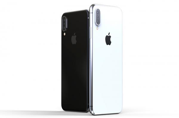 Iphone X Plus màn hình tai thỏ. Ảnh: Internet