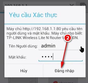 Cách đổi mật khẩu wifi bằng đt 8