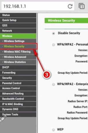 Cách đổi mật khẩu wifi bằng đt 7