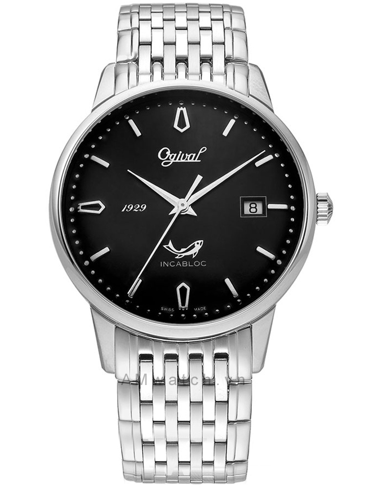 đồng hồ dây kim loại nam