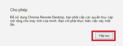 điều khiển máy tính bằng điện thoại